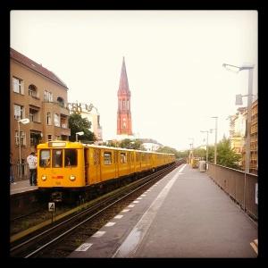 L'inconfondibile metro berlinese